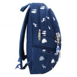 Рюкзак Bagland Urban 20 л. 225 синій/олені (0053066)
