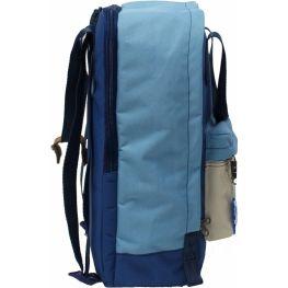 Рюкзак Bagland Liberty 19 л. Синий / бежевый (0050266)