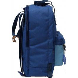 Рюкзак Bagland Liberty 19 л. синий/голубой (0050266)