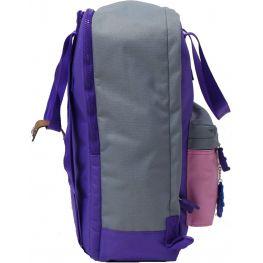 Рюкзак Bagland Liberty 19 л. 170 фіолетовий/рожевий (0050266)