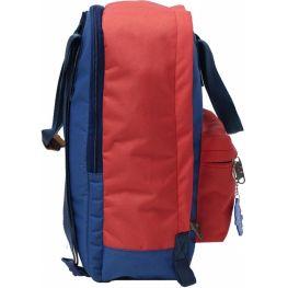 Рюкзак Bagland Liberty 19 л. 220 синій/червоний (0050266)