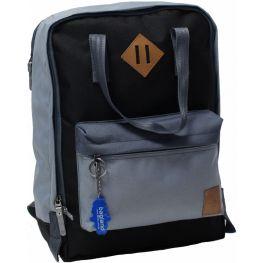 Рюкзак Bagland Liberty 19 л. Серый/светло-серый (0050266)