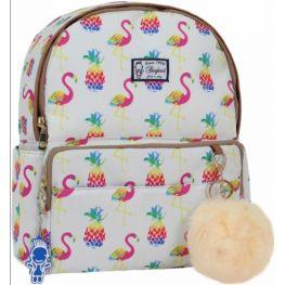 Рюкзак Bagland Flamingo 10 л. сублімація 361 (бежевий) (00516664)