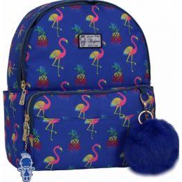 Рюкзак Bagland Flamingo 10 л. сублімація 361 (синій) (00516664)